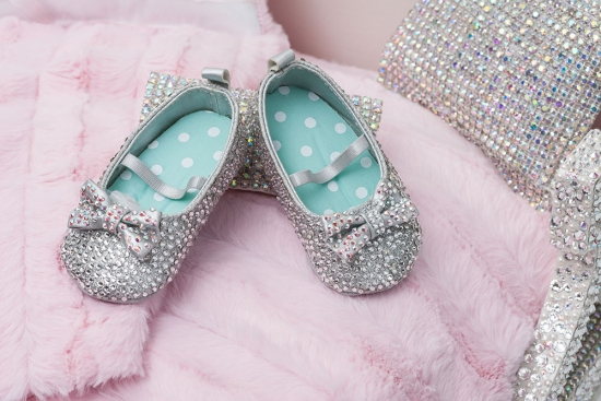 Swarovski Baby Shoes
