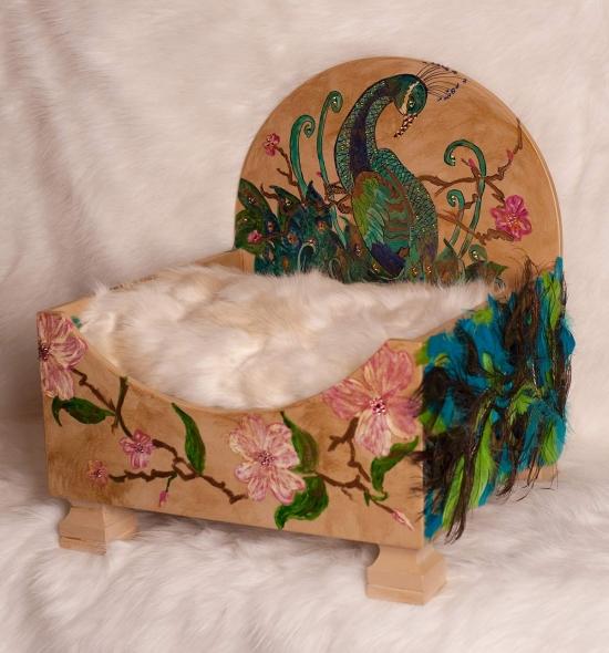 Peacock  Pet Bed