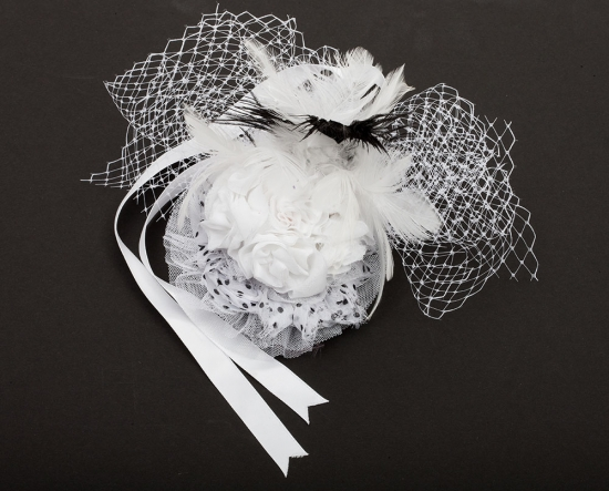Hayley's Special Occasion White Hat