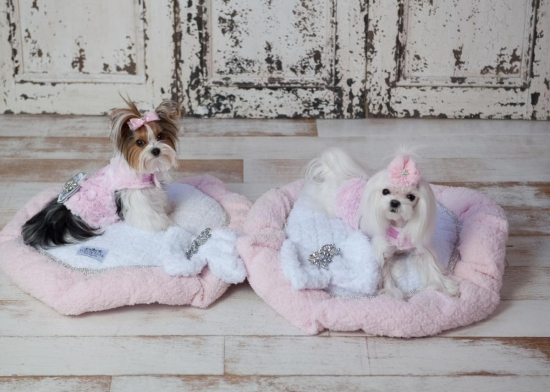 Flower Soft Pet Beds
