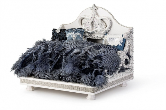 Denim and Diamonds Swarovski Bed