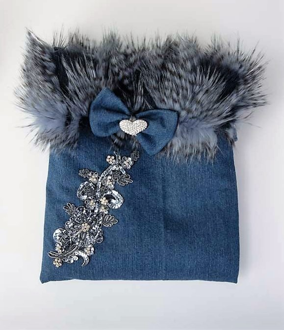 Denim and Diamonds Cuddle Cup